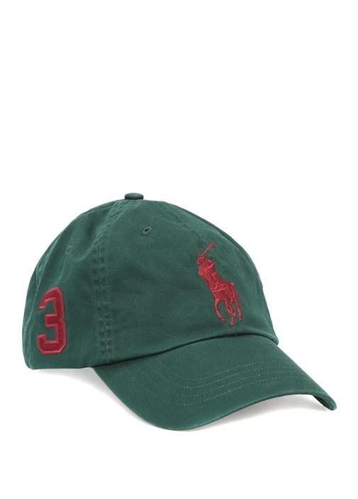 Polo Ralph Lauren Yeşil ERKEK Haki Logo Nakışlı Erkek Şapka 524780 ... 46054beb51