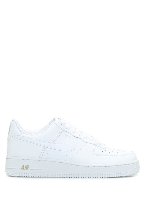 Nike Beyaz ERKEK  Air Force 1 07 Beyaz Kadın Deri Sneaker 519299 Beymen