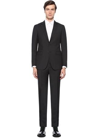 Lanvin Erkek Antrasit Dokulu Yün akım Elbise Gri 50 I (IALY) Ürün Resmi