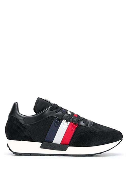 Horace Siyah Erkek Deri Sneaker