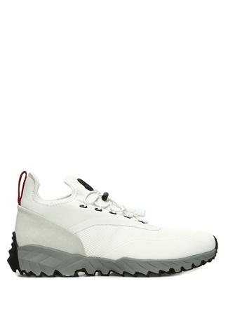 Jericho Beyaz File Doku Detaylı Erkek Deri Sneaker