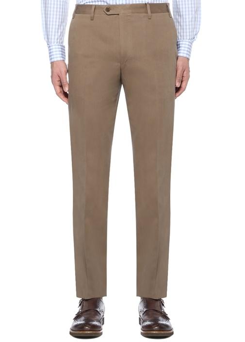 Drop 7 Bej Kanvas Pantolon