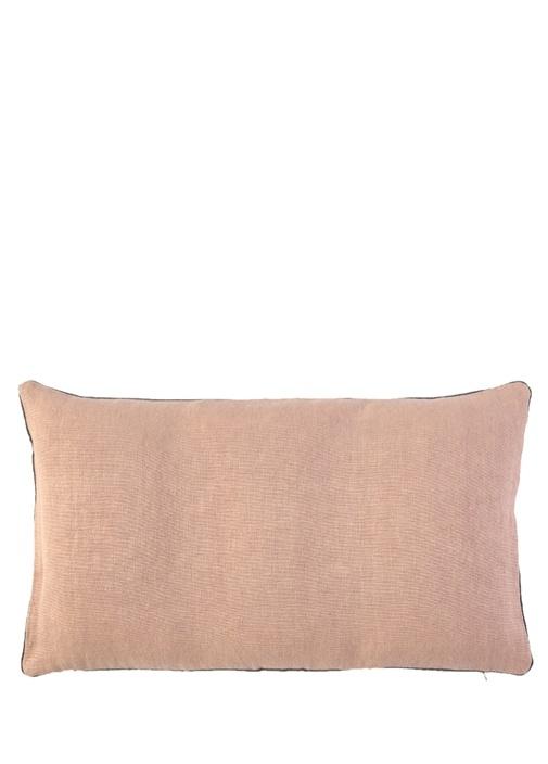 Pigment Somon 57x33 cm Keten Dekoratif Yastık