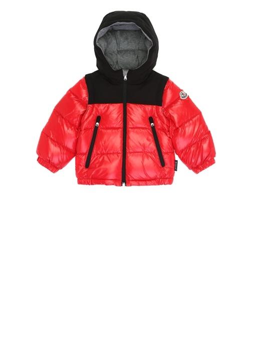 Roubaix Kırmızı Kapüşonlu Erkek Bebek Puff Mont
