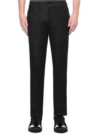Siyah Normal Bel Boru Paça Jean Pantolon