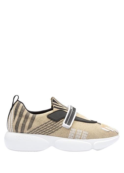 Pudra Jakarlı Kadın Sneaker