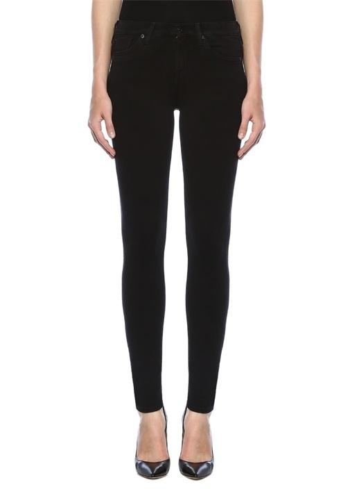 Super Skinny Siyah Jean Pantolon