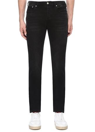 Slim Standard Fit Siyah Dar Paça Jean Pantolon