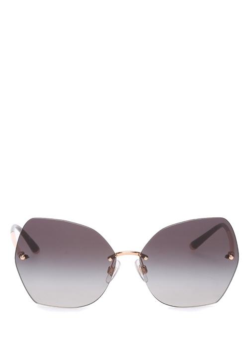 Antrasit Kare Formlu Kadın Güneş Gözlüğü