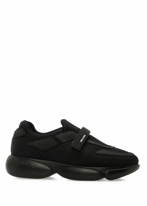 Cloudbust Siyah File Dokulu Kadın Sneaker
