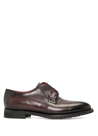 Koyu Kahverengi Erkek Deri Ayakkabı