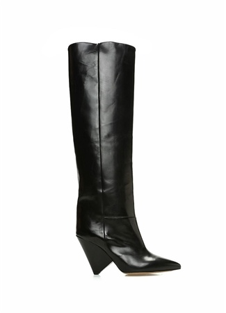 Isabel Marant Kadın Lokyo Siyah Deri Çizme 36 R