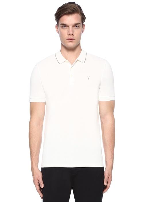 Houston Beyaz Logo Nakışlı T-shirt