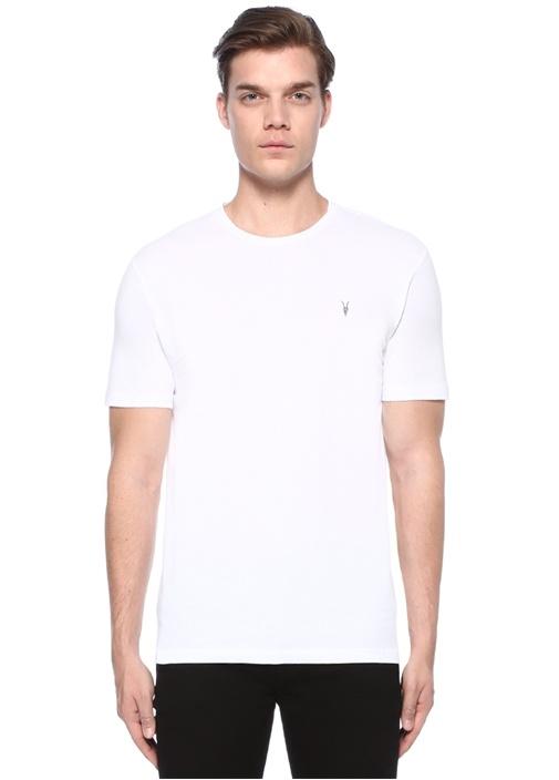 Brace Tonic Beyaz Logolu Basic T-shirt