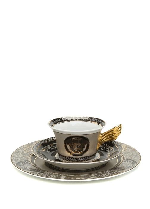 Medusa Silver 25 Yıl Koleksiyonu 3lü Porselen Set