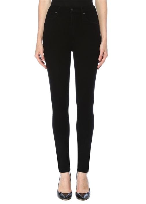 Chrissy Siyah Yüksek Bel Skinny Jean Pantolon