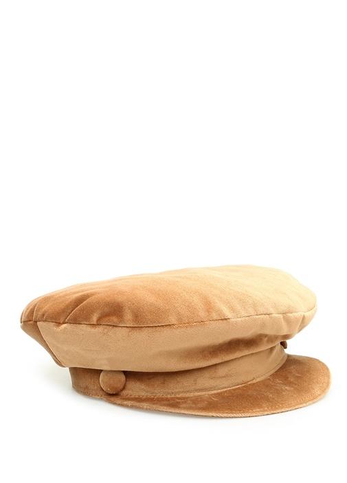 Taba Kadife Kadın Şapka