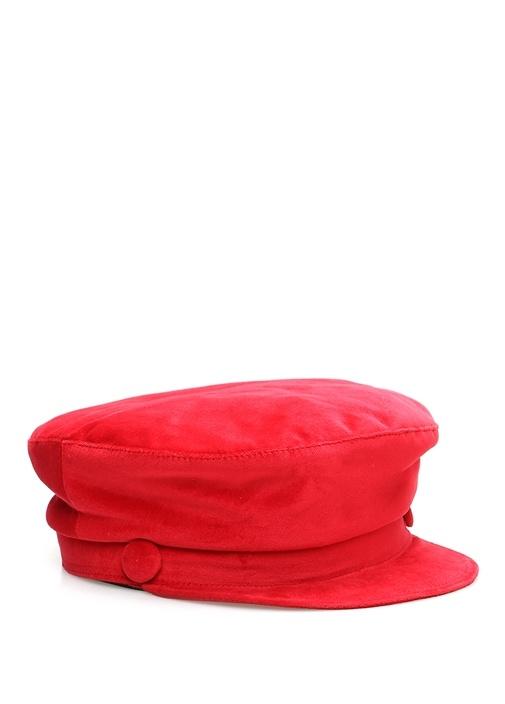 Kırmızı Kadın Şapka