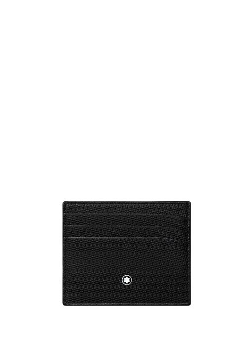 Meisterstück Siyah Unisex Deri Kartlık