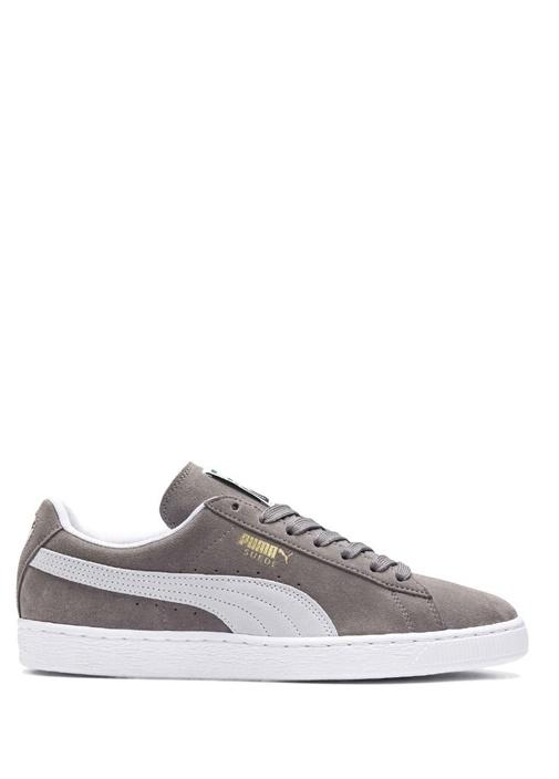 Classic Gri Erkek Süet Sneaker