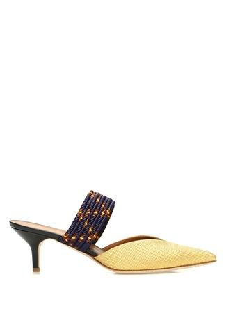 Kadın Maisie Sarı Örgü Dokulu Terlik Altın Rengi 35.5 EU