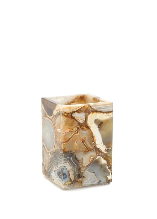 Agate Gold Taş Dış Fırçalık