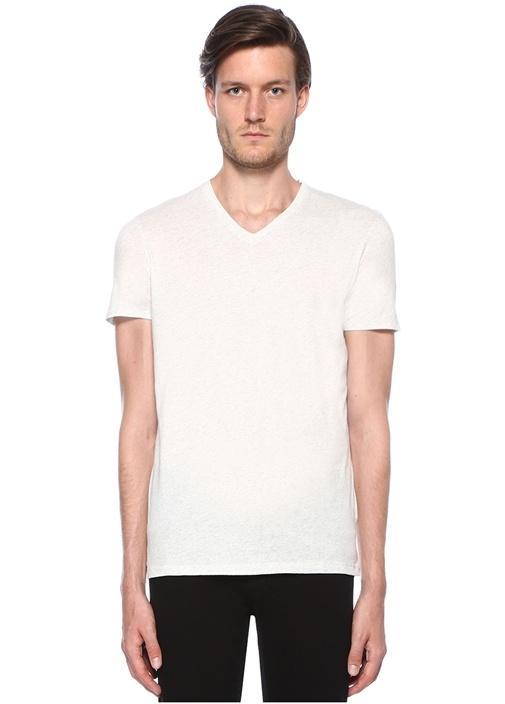 Polaire Gri Melanj Basic T-shirt