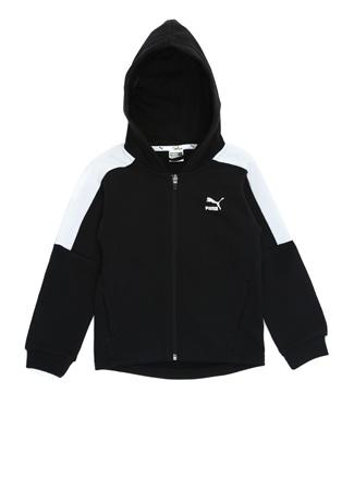 Puma Erkek Çocuk Minions Siyah Kapüşonlu Sweatshirt 7-8 Yaş Ürün Resmi