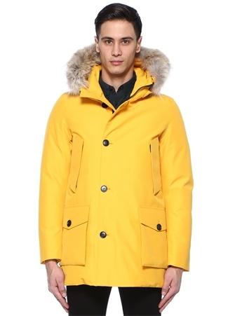 WOOLRICH Erkek Gtx Artic Sarı Kapüşonlu Puff Parka S Ürün Resmi