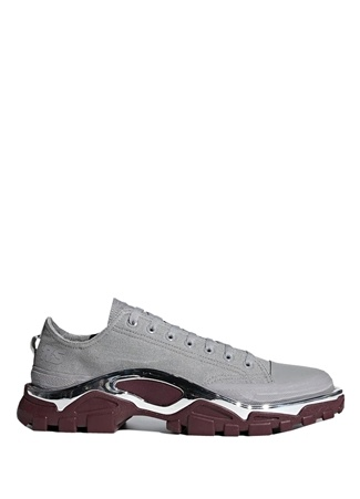 Erkek Rs Detroit Runner Gri Sneaker Bordo 8 US