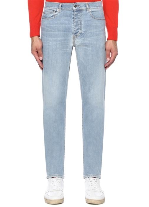Tunas Normal Bel Dar Paça Jean Pantolon