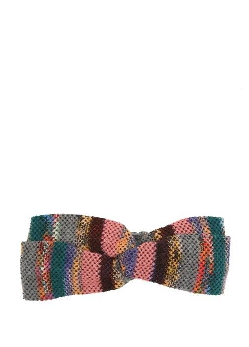 Colourblocked Düğüm Detaylı Kadın Saç Aksesuarı