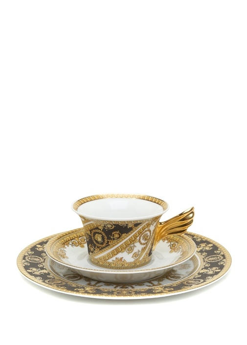 I Love Baroque 25 Yıl Koleksiyonu 3lü Porselen Set