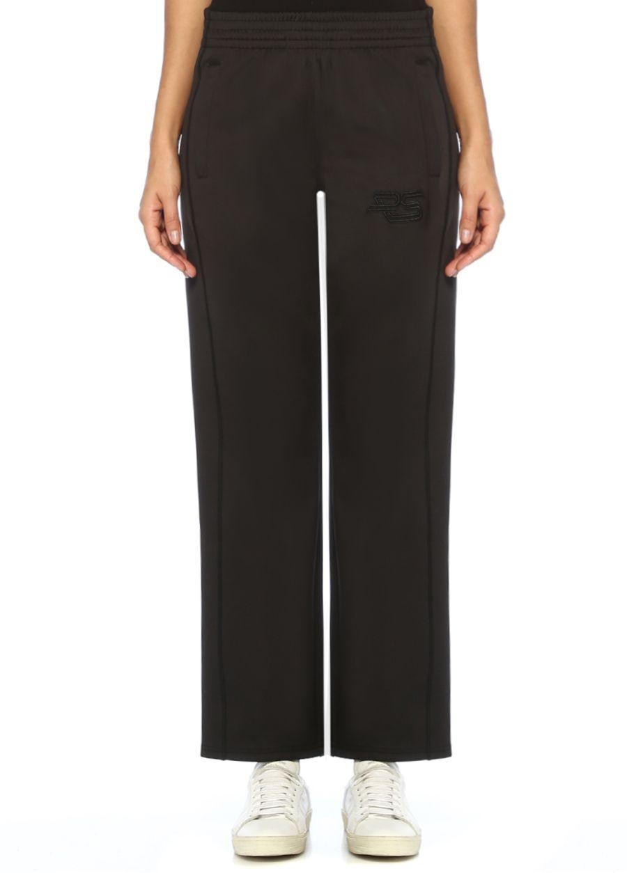 Proenza Schouler Siyah Normal Bel Yanları Çıtçıtlı Pantolon