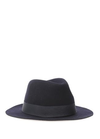 72be4de576266 Tom Smarte Erkek Mavi Bant Detaylı Yün Şapka Lacivert 59 EU