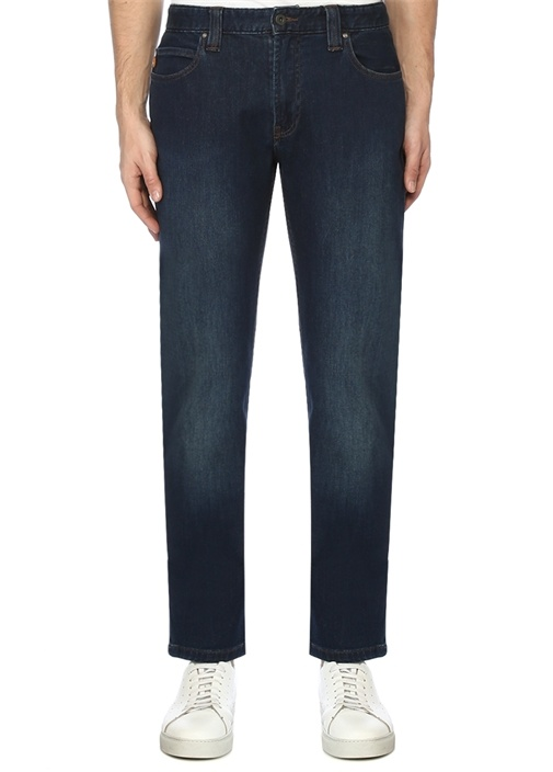 Regular Fit Lacivert Normal Bel Jean Pantolon