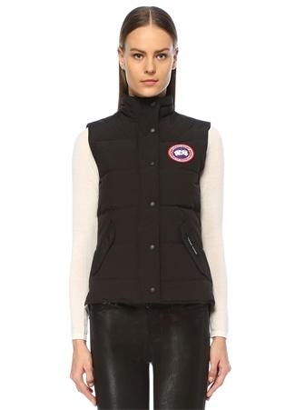 Canada Goose Kadın Freestyle Vest Siyah Dik Yaka Puff Yelek XS EU
