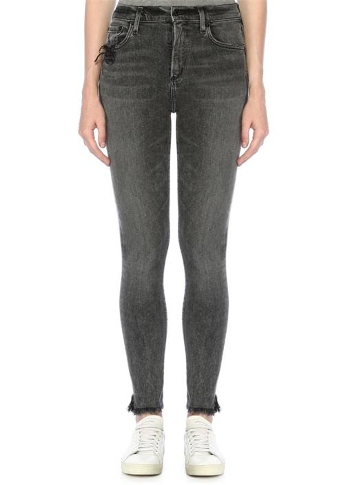Agolde Sophie Gri Yüksek Bel Skinny Jean Pantolon – 579.0 TL