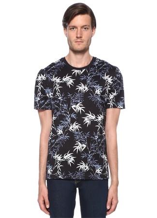 J Lindeberg Erkek Silo Lacivert Baskılı Basic -shirt Mavi XL Ürün Resmi