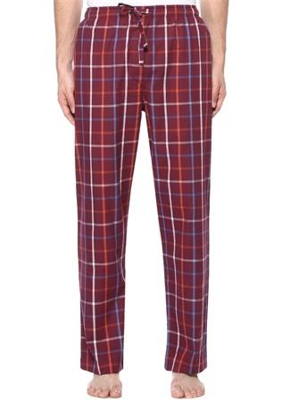 Kırmızı Ekose Desenli Pijama Altı