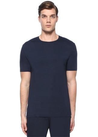 Lacivert Basic T-shirt