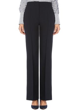 Lacivert Normal Bel Bol Paça Pantolon