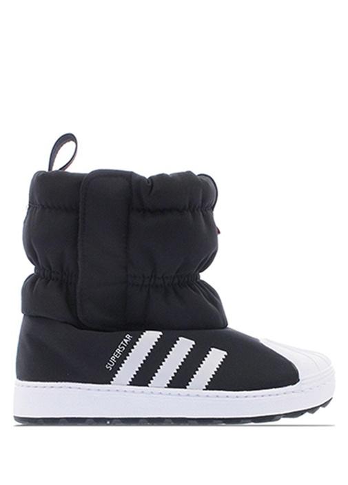 683abfe0a1 Adidas Siyah-Beyaz KIDS Superstar Siyah Unisex Çocuk Sneaker 537742 ...