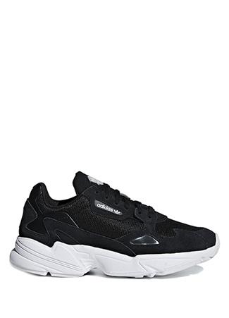 Adidas Kadın Falcon Siyah Beyaz Sneaker 4.5 UK