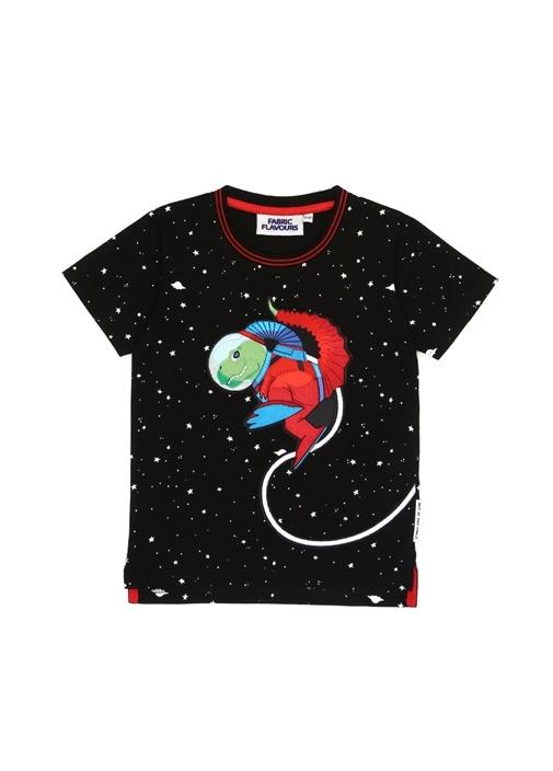 Out Of This World Space Erkek Çocuk T-shirt