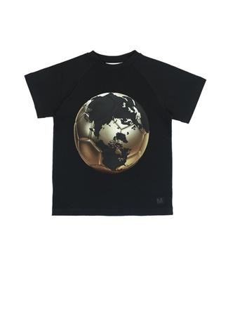 Erkek Çocuk Raines Siyah Baskılı T-shirt 4 Yaş EU