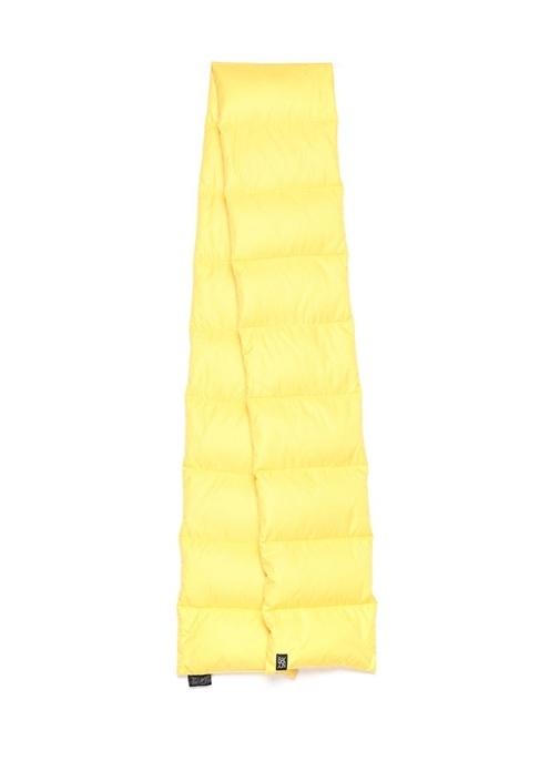 Sarı Kadın Puff Atkı