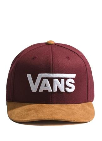 ff025b5cd7 Standart male Çok Renkli Vans Erkek Drop II Snapback Bordo Şapka EU