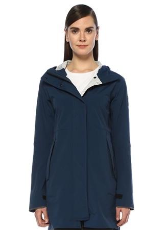 Canada Goose Kadın Salida Lacivert Kapüşonlu Yağmurluk Siyah XS EU