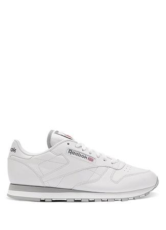 Reebok Erkek Classic Leather Beyaz Sneaker Gri 42 R Ürün Resmi